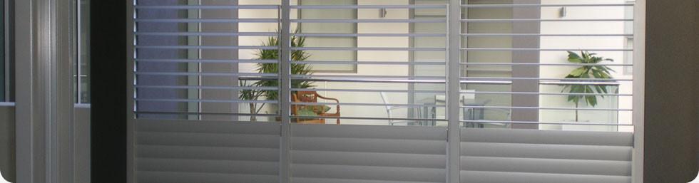 plantation shutters partial open